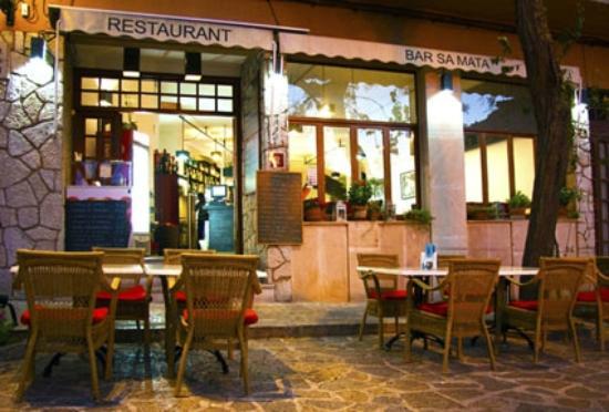 Restaurant Sa Mata: fachada Sa Mata