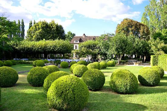 Le Vieux Logis: the gardens