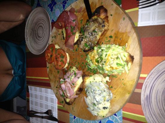 Broccolino : Bruschetta like no other! Delicious