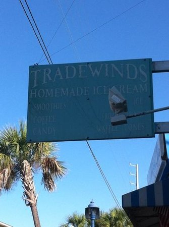 Tradewinds Ice Cream : Tradewinds