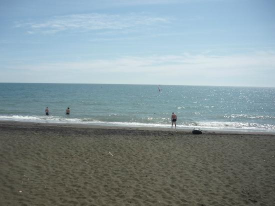 Hotel Villa Margherita: Beach!