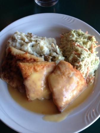 City Park Grill : Whitefish with butternut squash sauce