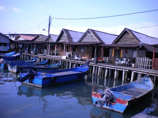 My Chew Jetty Homestay: The houses of Chew Jetty