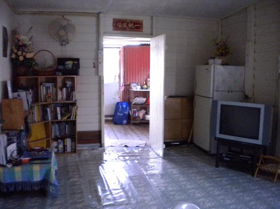 My Chew Jetty Homestay: Living/common room