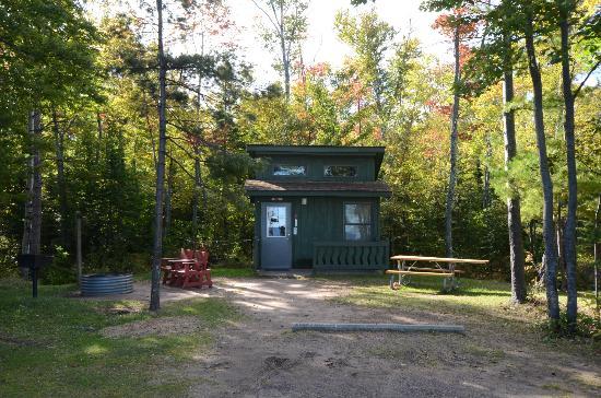Mini Cabin Picture Of Mclain State Park Campground