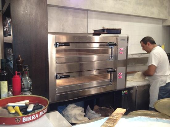 Focacceria La Piazzetta: forni focaccia