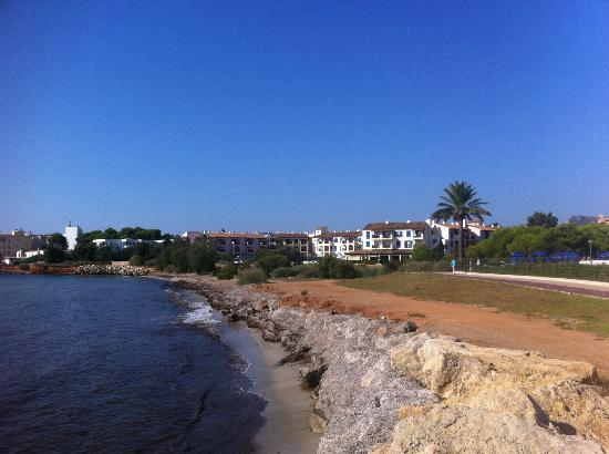 beach in front of the hotel Picture of Sunwing Cala Bona Beach