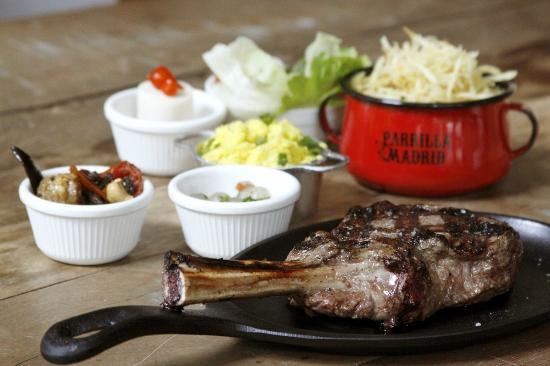 Photo of Steakhouse Parrilla Madrid at Cls 408 Bloco D, Store 1, Brasilia 71645-150, Brazil