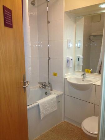 Disabled Room Bathroom Layout - Picture of Premier Inn ...