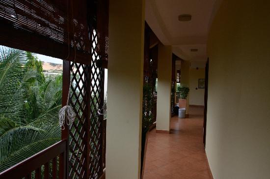 تيراكوتا ريزورت آند سبا: Вид с 3 этажа главного корпуса 