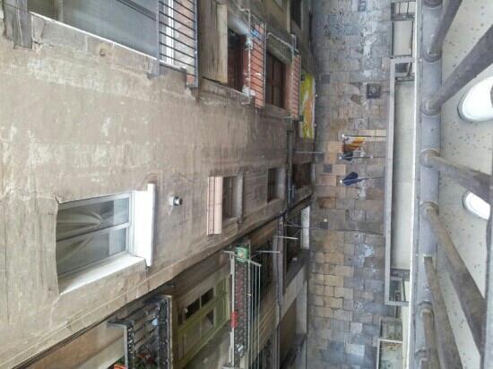 Hotel California: foto scattata dal balcone della mia camera