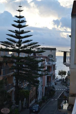 Hotel Europa: panorama dal terrazzo della camera
