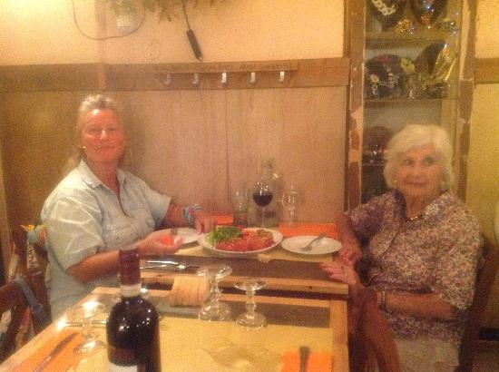 Le Fate Restaurant: io e mariuccia
