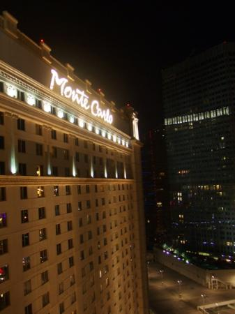 Monte Carlo Resort & Casino: room view to left