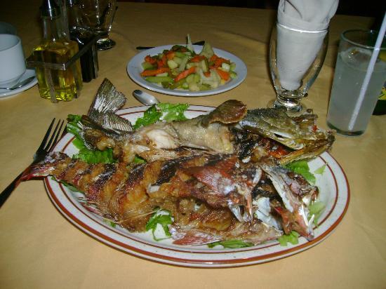 Ecoplaya Beach Resort: cena en familia