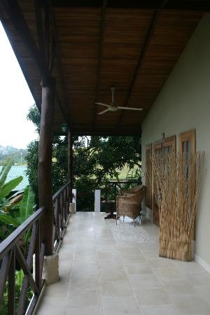 Falls Resort at Manuel Antonio: View of shared balcony/entry way