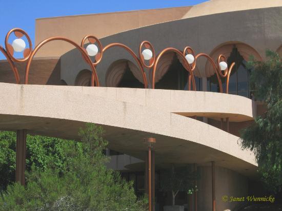 Walkway-Grady Gammage Auditorium