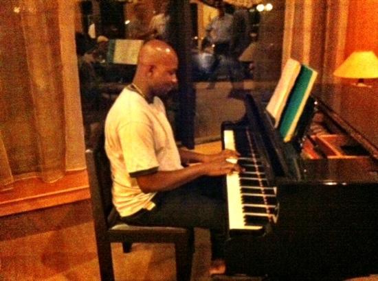 LAICO l'Amitie Hotel: Hotel Laico l'Amitie Bamako (pianista)