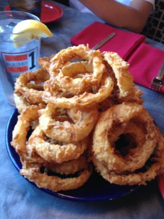 Square 1: Onion rings