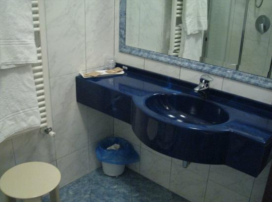 Hotel Napoleon : Bathroom basin area