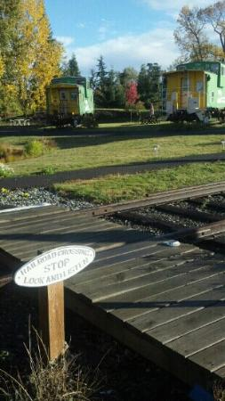 We absolutely LOVED our time @ the Red Caboose Getaway Bed & Breakfast.