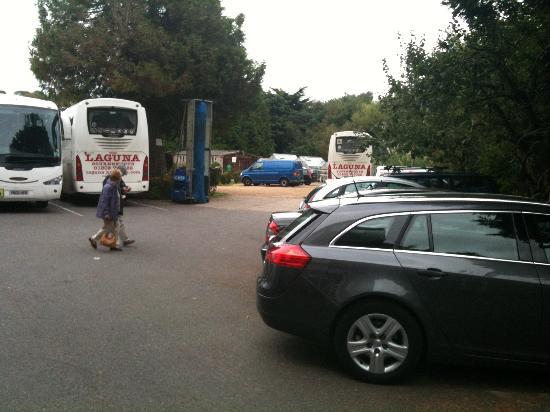 Laguna Hotel: More buses less car parking