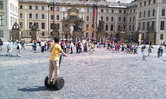 Yellow Zebra Segways & Bikes: A spring day in Prague