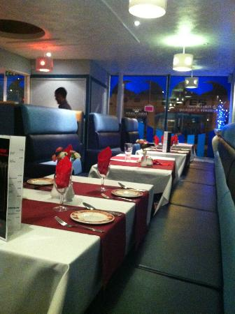 Royal Tandoori Scarborough: View from our seats in the corner
