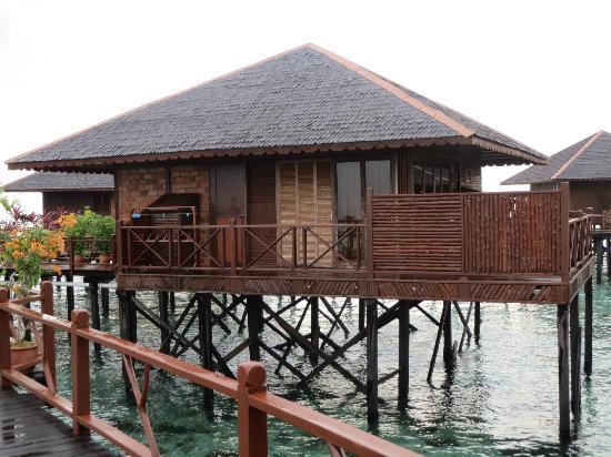 Sipadan Water Village Resort: our bungalow # 108