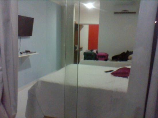 باو برازيل برايا هوتل: vista do quarto pela varanda 