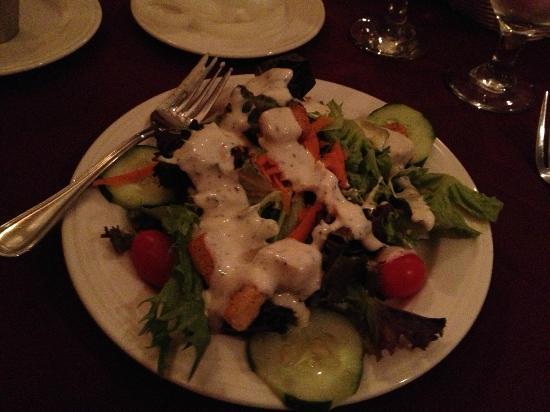 Christmas Farm Inn & Spa: the salad had such a variety of vegetables