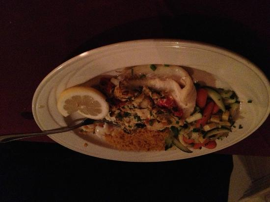 Christmas Farm Inn & Spa: the haddock was delicious