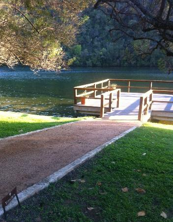 Lake Austin Spa Resort: This is the yoga dock--bring a mat and get all ZEN
