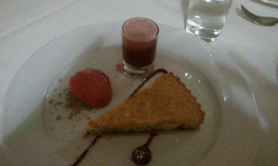 Losehill House Hotel & Spa: our pud!!
