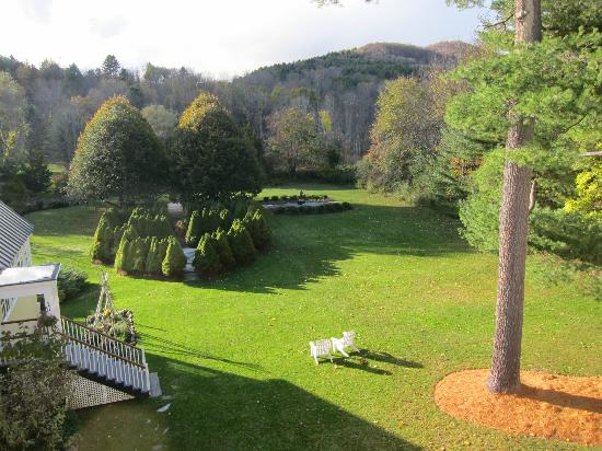 Jackson House Inn : View from deck