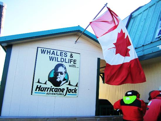Campbell River Whale Watching and Adventure Tours: Hurricane Jack!