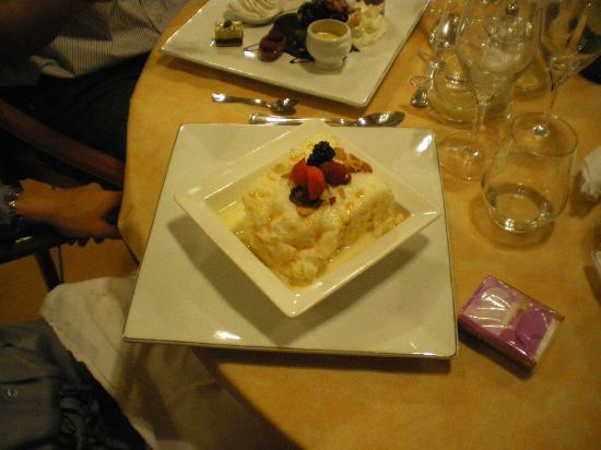Auberge de la Vieille Ferme: dessert