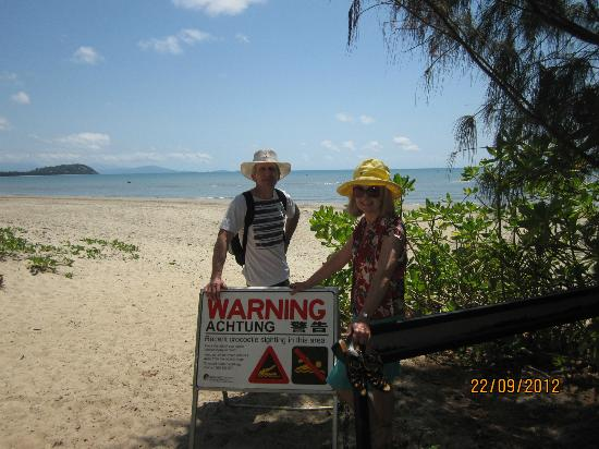 Paradise Links Resort Port Douglas: The (not so nice) Beach