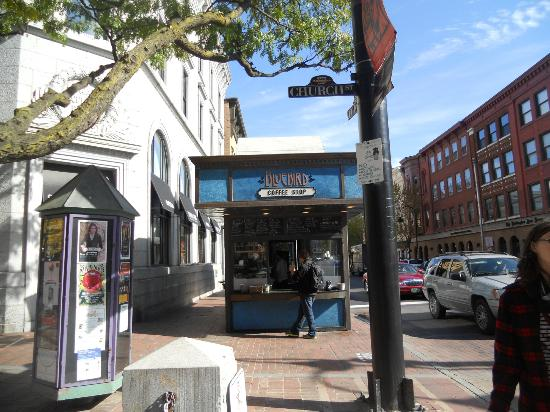 Church Street Marketplace: Blue Bird - A little bit expensive, but good.