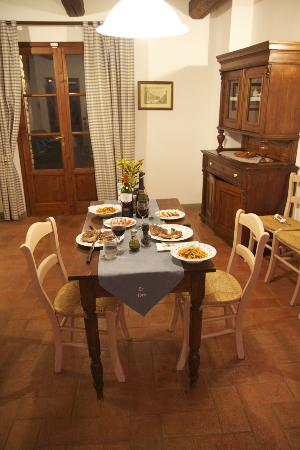 Villa Le Torri: Homemade Couples Dinner