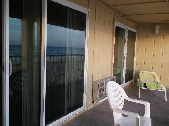 Panama City Resort and Club: balcony two sliding doors