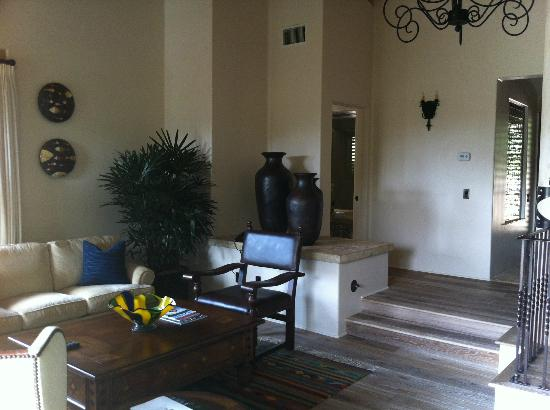 Rancho Valencia Resort & Spa: Livingroom