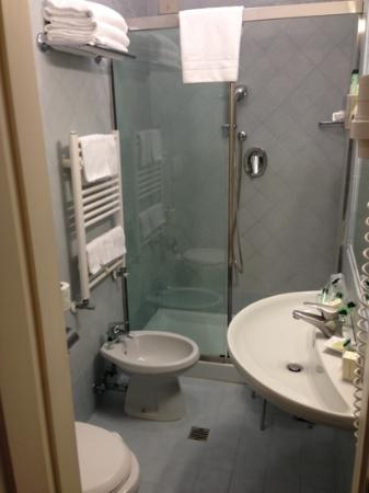 "Villa Igea: bathroom in our ""triple"" room"