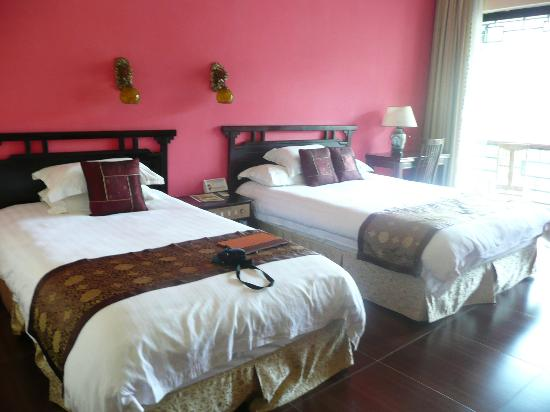 Li River Resort : Our very comfortable beds