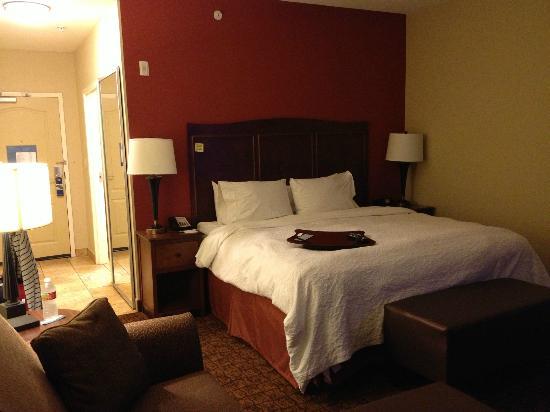 Hampton Inn & Suites McAllen: spacious room