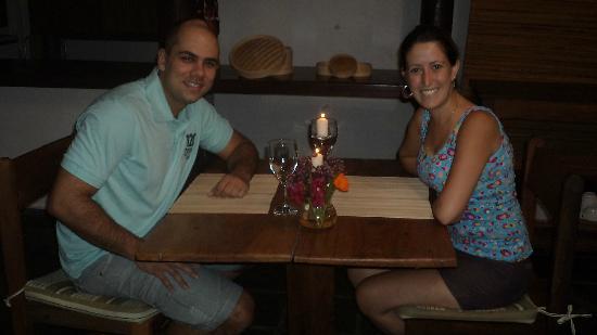 Pousada Jacaranda: Jantar!