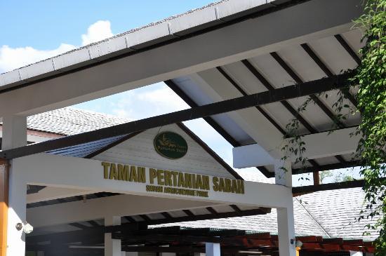 Tenom, Malaysia: entrance to taman pertanian sabah