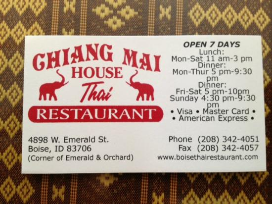 Best Thai Restaurants Boise