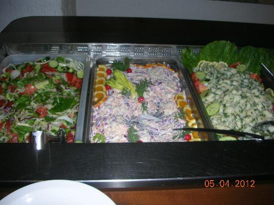 Navarria Hotel: ужин