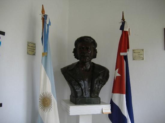 Alta Gracia, Argentina: escultura del Che
